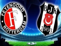 Feyenoord Besiktas Kadrolar Mac