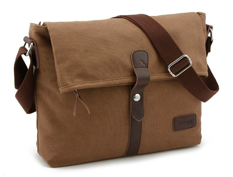 IPAD mens canvas messenger bag, mens canvas shoulder bags - YEPBAG ...