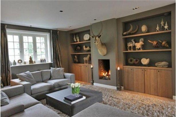 Openhaarden google zoeken woonkamer pinterest haard zoeken en google - Gordijnen landelijke stijl chique ...