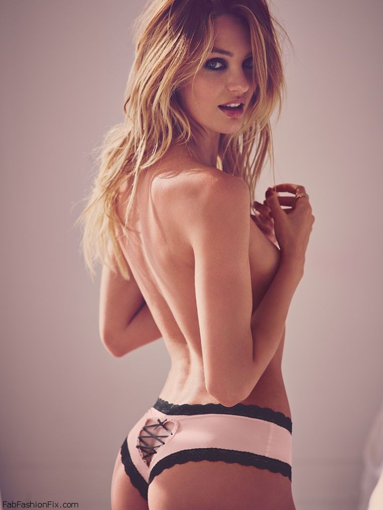 dcbfc50a608aa Candice Swanepoel is sexy bombshell for Victoria s Secret Valentine s Day  2015 collection.  candiceswanepoel