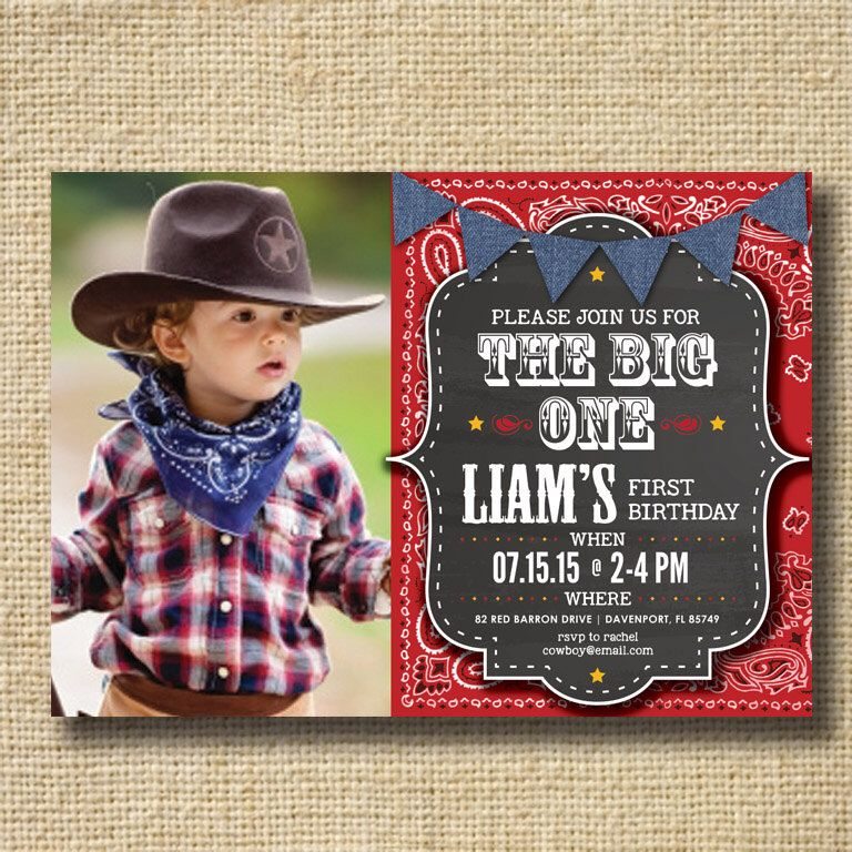 first birthday invitation for my son%0A PRINTABLE Chalkboard Baby Boy First Birthday Invitation Boy First Birthday  Country Western BBQ Picnic  Boys