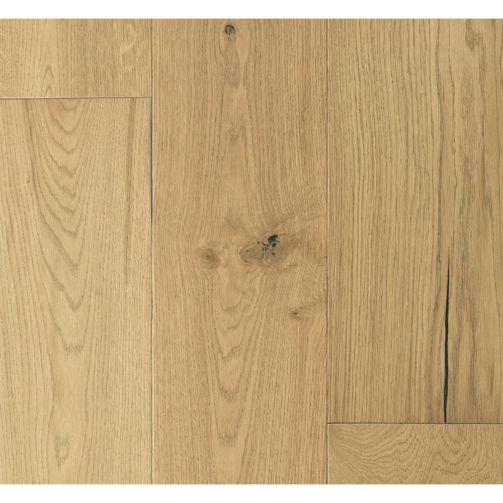 Malibu Wide Plank French Oak Sunset Cliffs 3 8 In T X 6 1 2 In W X Varying L Engineered Click Hardwood Flooring 23 64 Sq Ft Case Hdmrcl210ef The Home D Engineered Hardwood