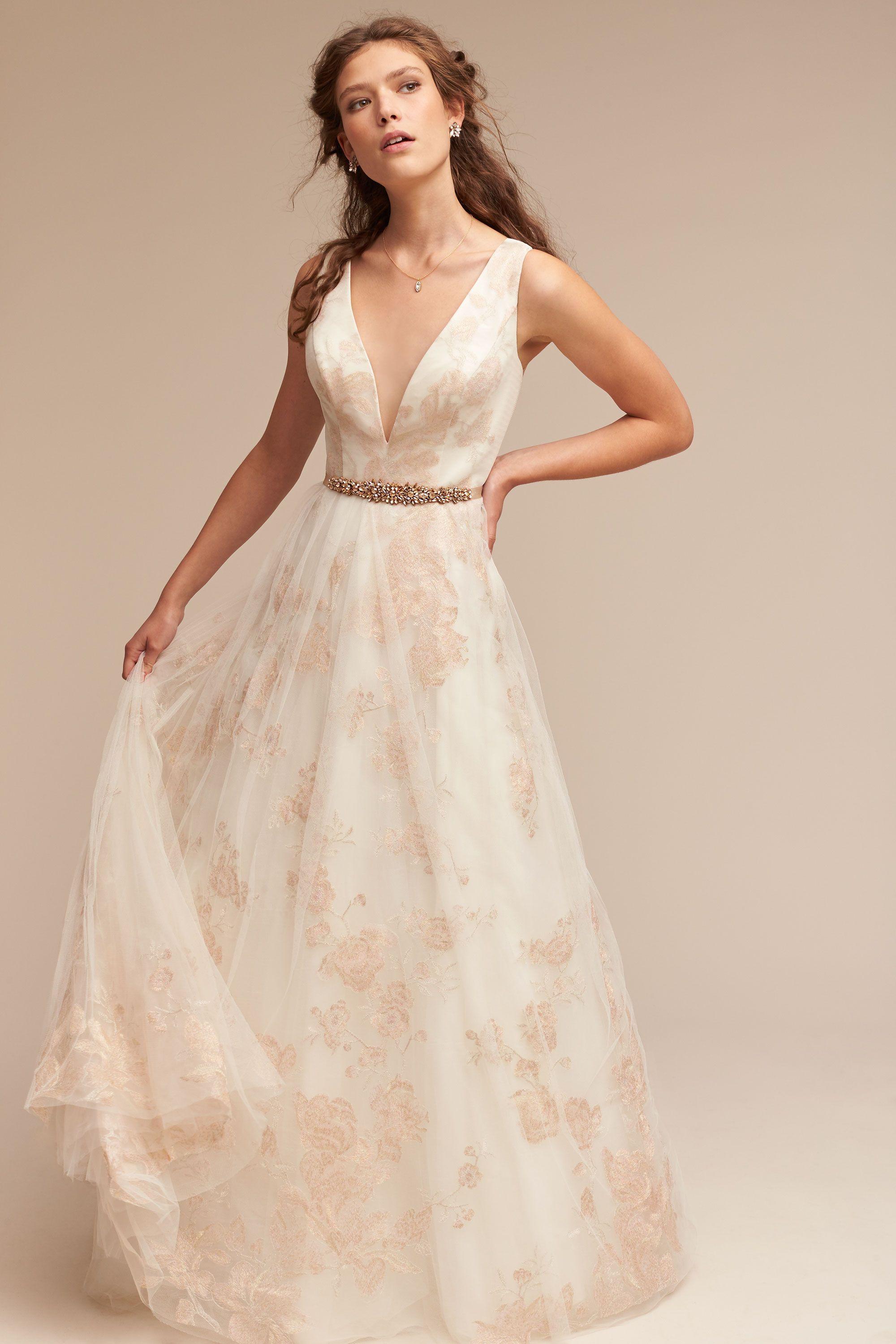 BHLDN Lily Gown in Bride Wedding Dresses | BHLDN | VESTIDOS DE ...