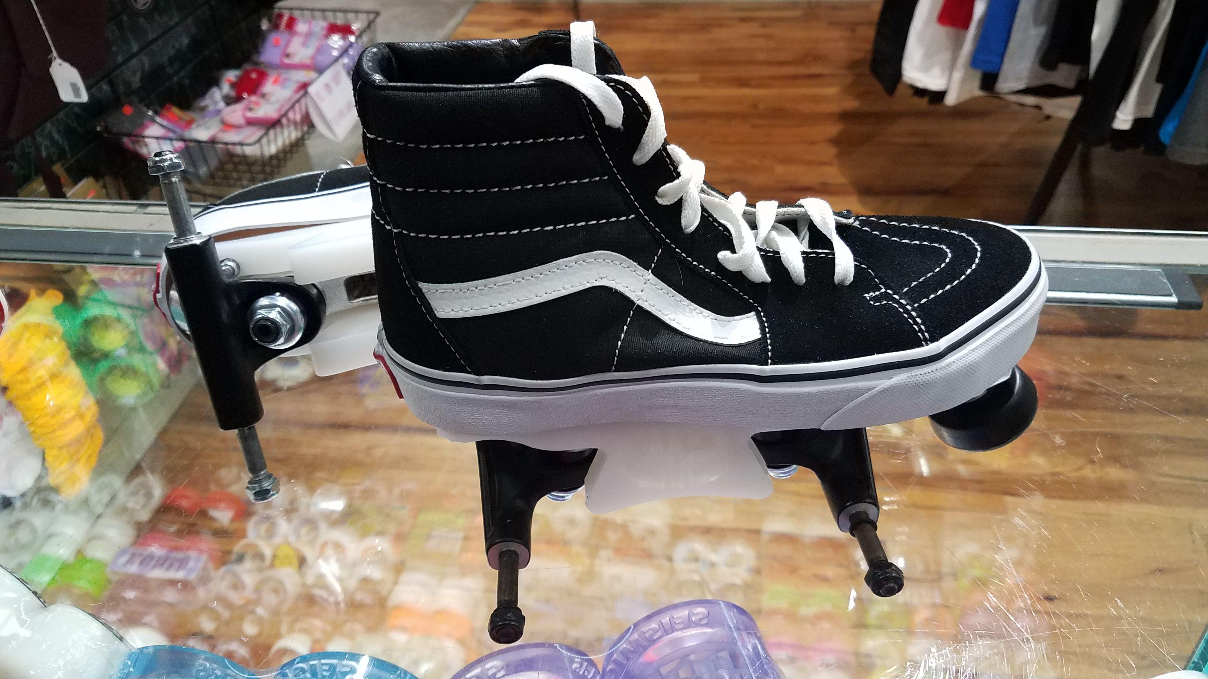 caa01d8e6224e Vans Chicks in Bowls custom roller skates CIB skatepark skate in ...