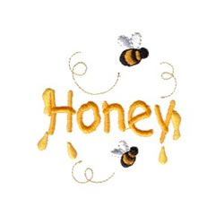 embroidered Bee  | Honey Bees embroidery design
