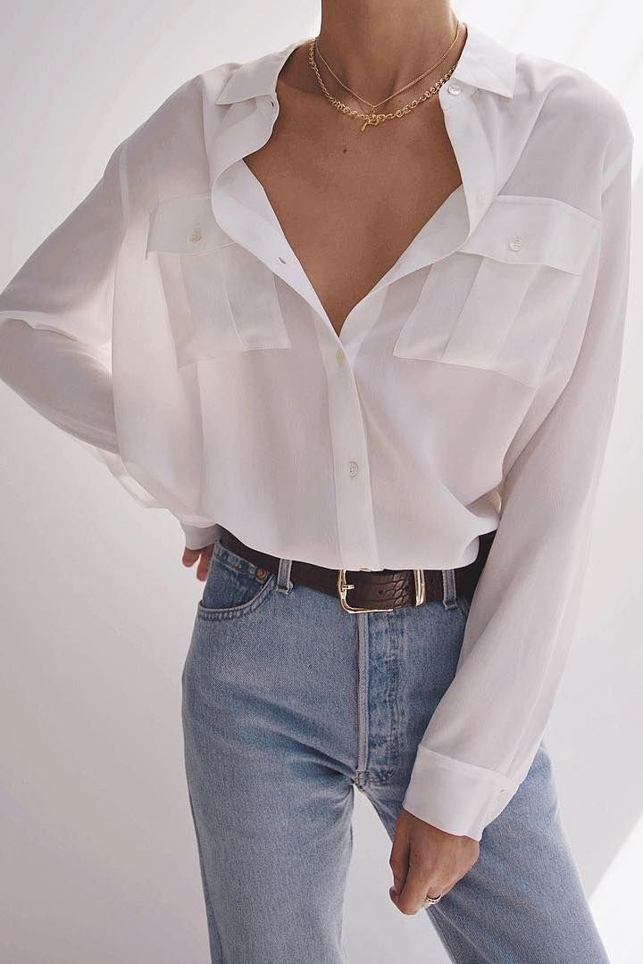 25+ Ways To Style A Button Down Shirt  #blue