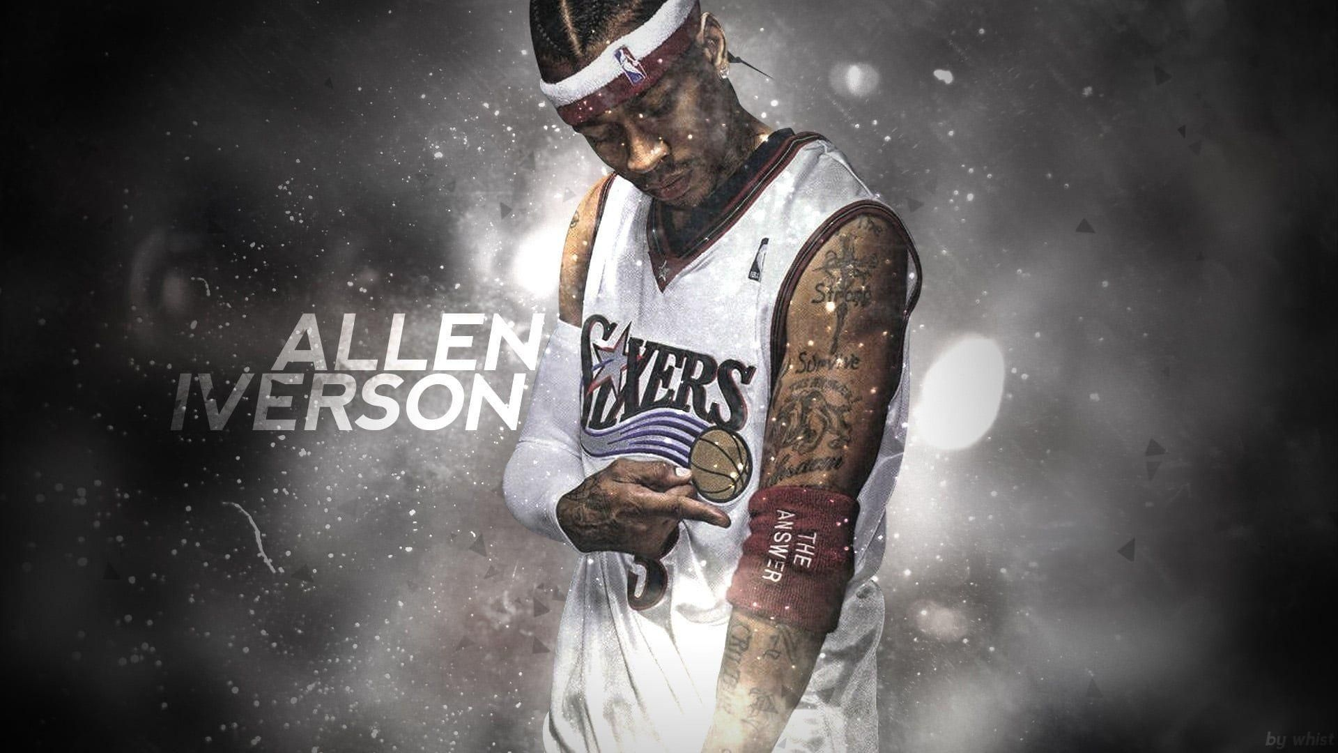10 New Allen Iverson Wallpaper Hd Full Hd 1080p For Pc Desktop Allen Iverson Wallpapers Allen Iverson Nba Wallpapers