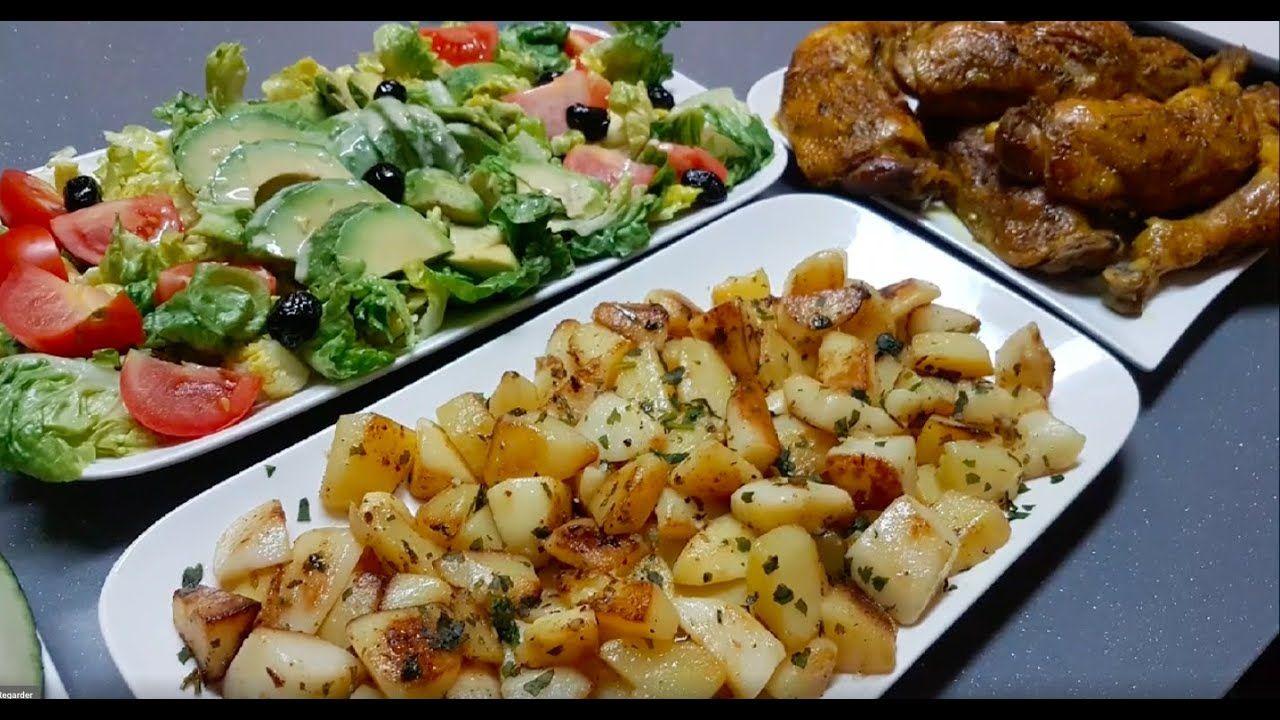 Repas Très Convivial De Tous Les Jours Facile. وجبة اقتصادية بالبطاطس وا... en 2020 | Repas ...
