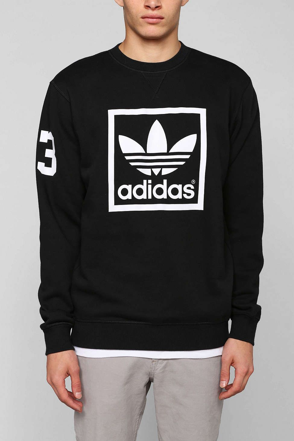 adidas Originals Trefoil Crew neck Sweatshirt | Addidas
