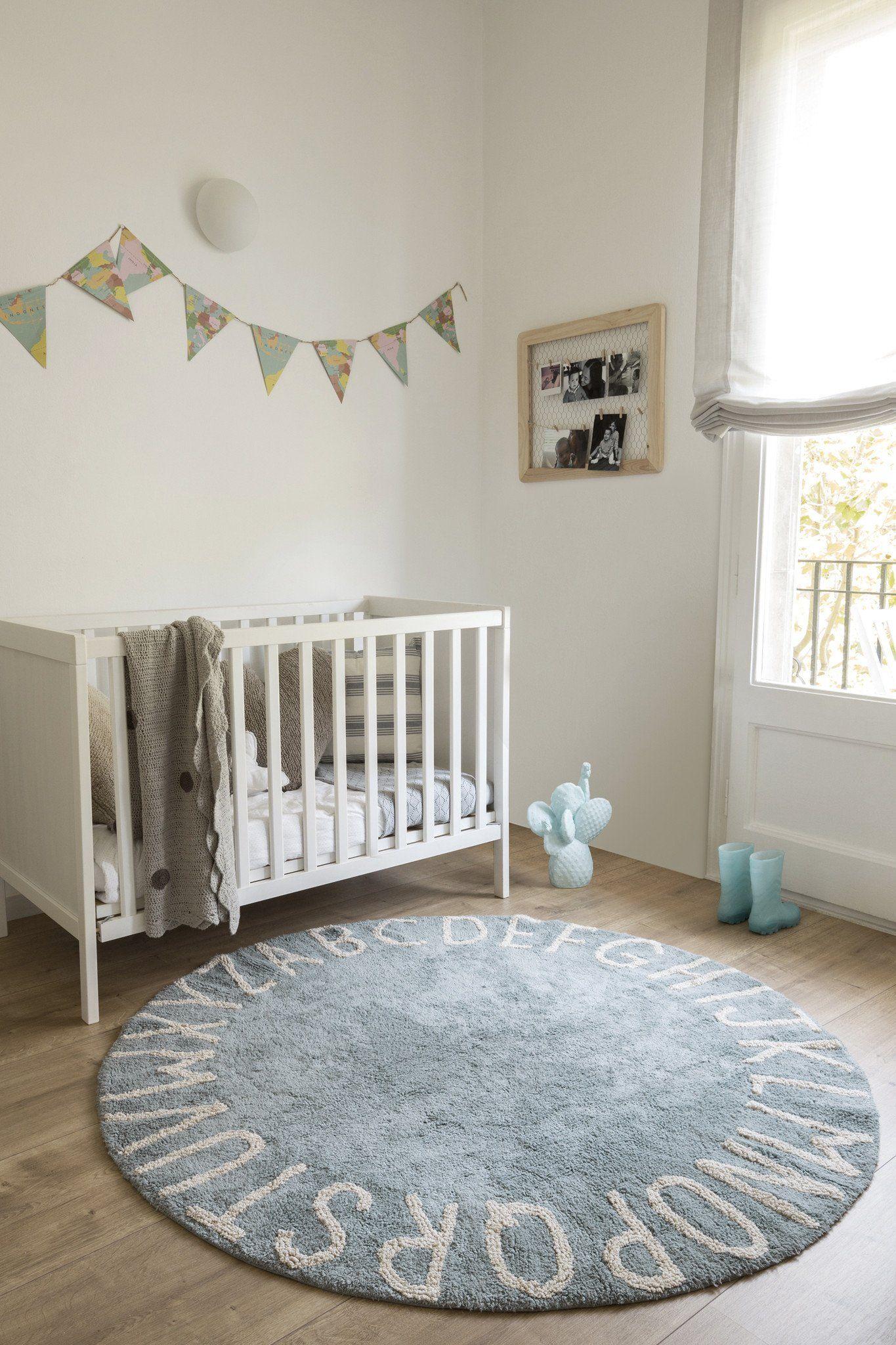 Round Abc Rug Nursery Room Boy
