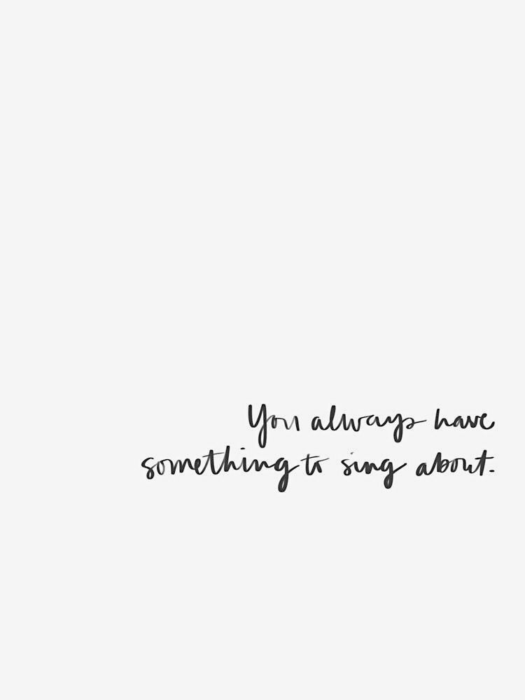 Just keep singing, just keep singing 🖤 . . . Inspirational quotes, inspiring quotes, self-care, self-love, self-respect, motivational quotes
