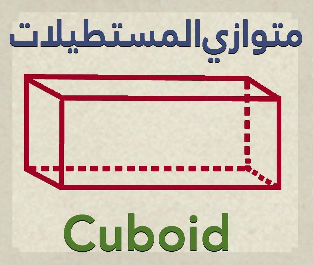 Cuboid 3d Geometric Shape