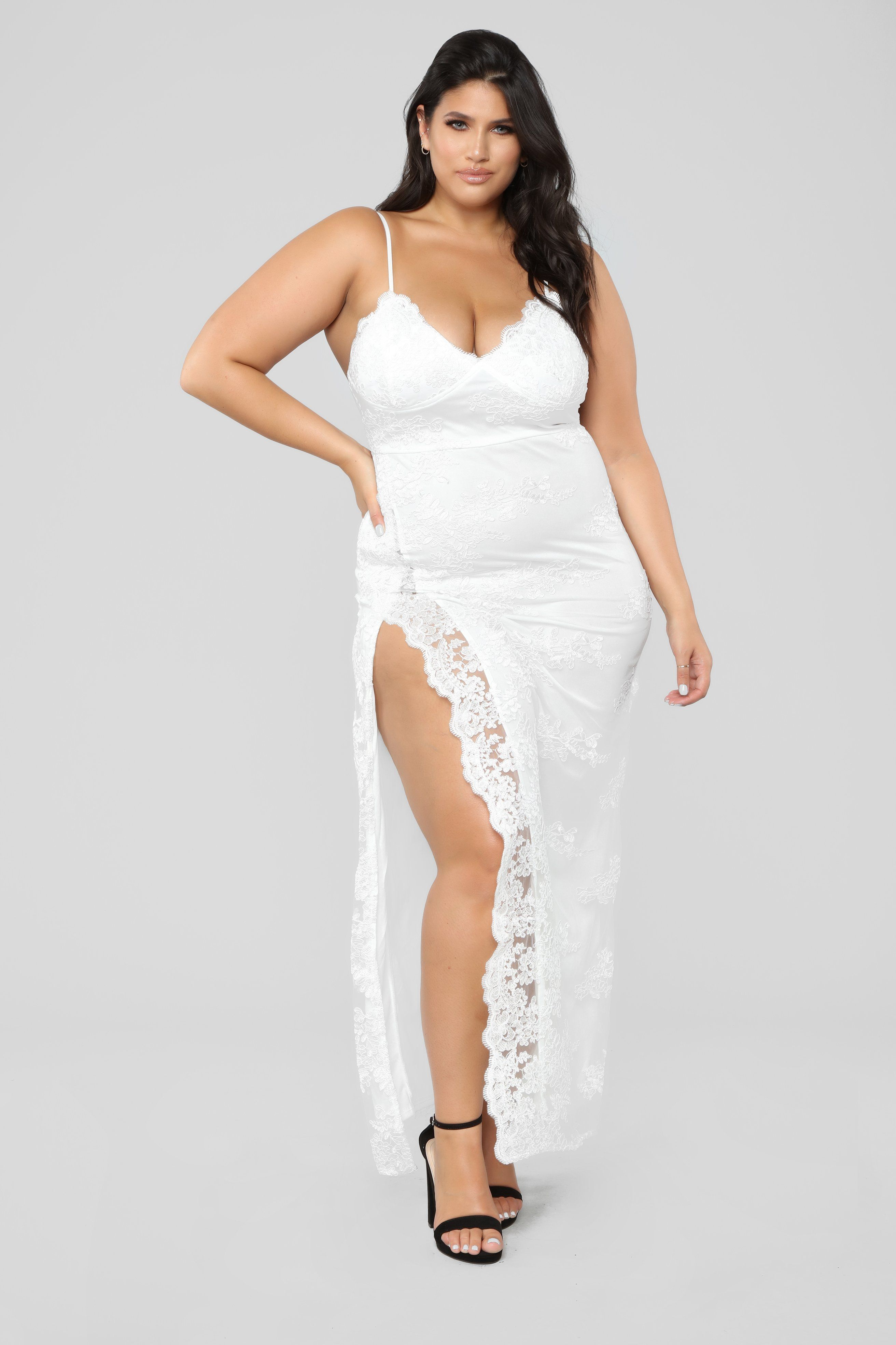 5bb97d96f326 A Night In Tokyo Lace Dress - White White Lace Maxi Dress