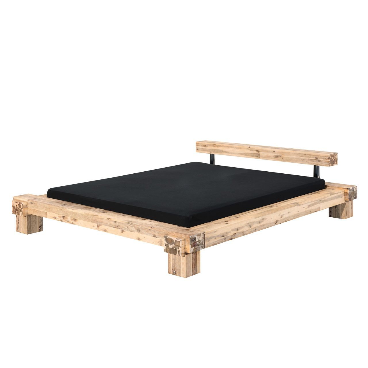 Modular La Paz Akazie In 2020 Massivholzbett Bett Holz