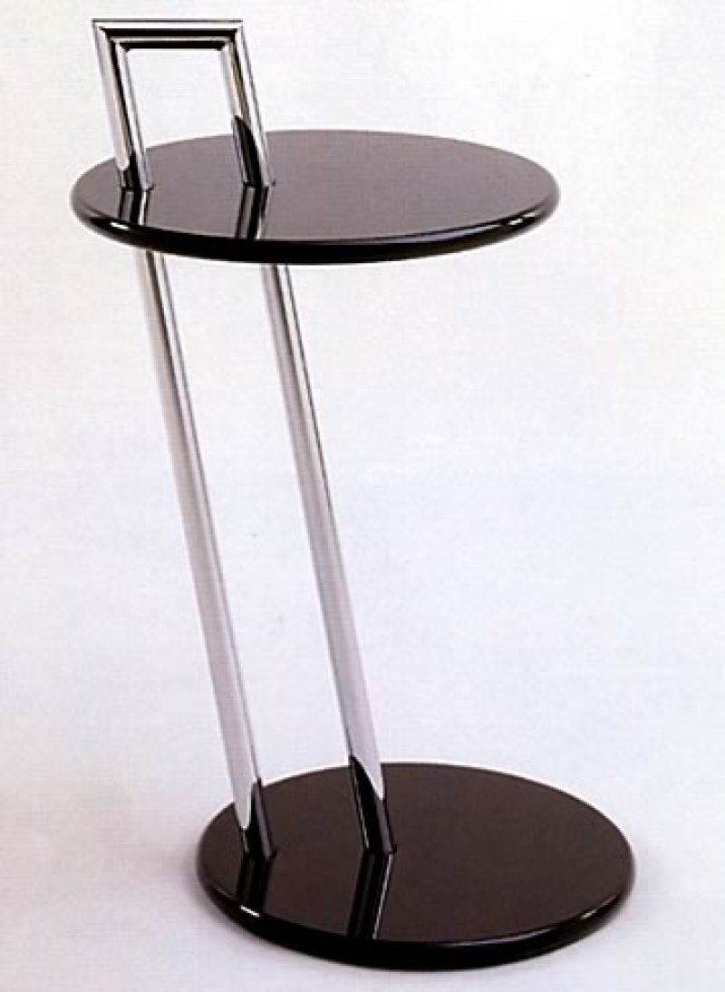 eileen grey furniture. Eileen Gray Cigarette Table - Bauhaus Grey Furniture H