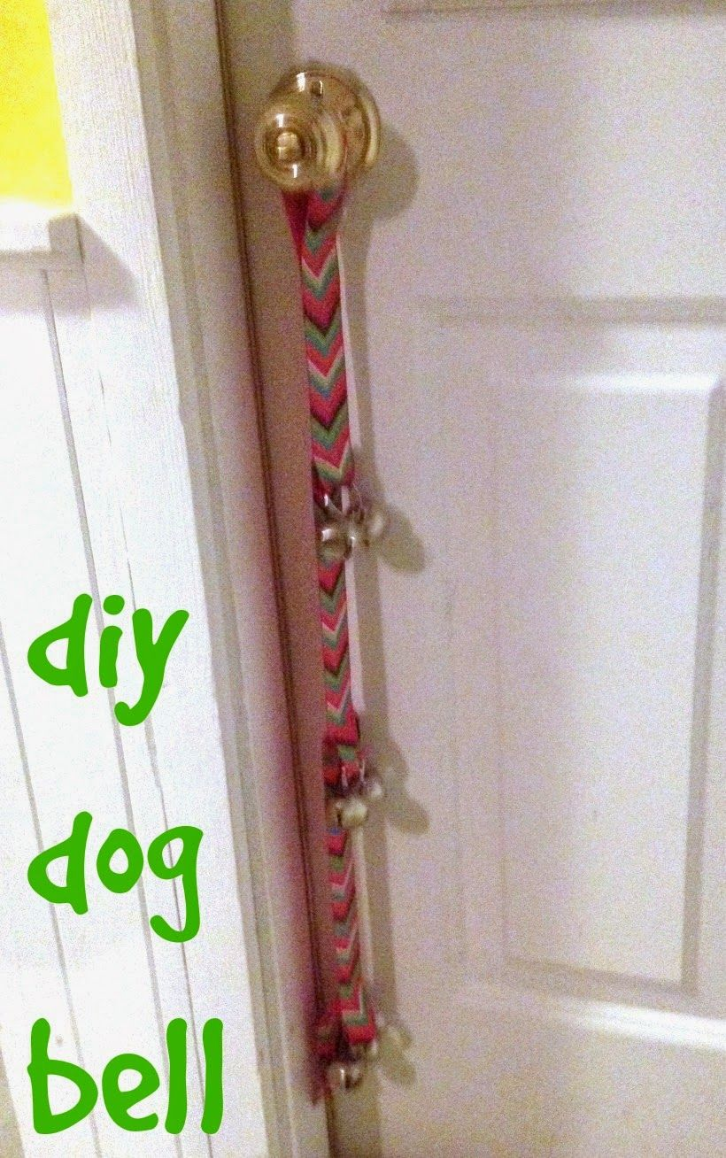 The Food Hussy Diy Project Dog Door Bell Dog Door Bell Diy