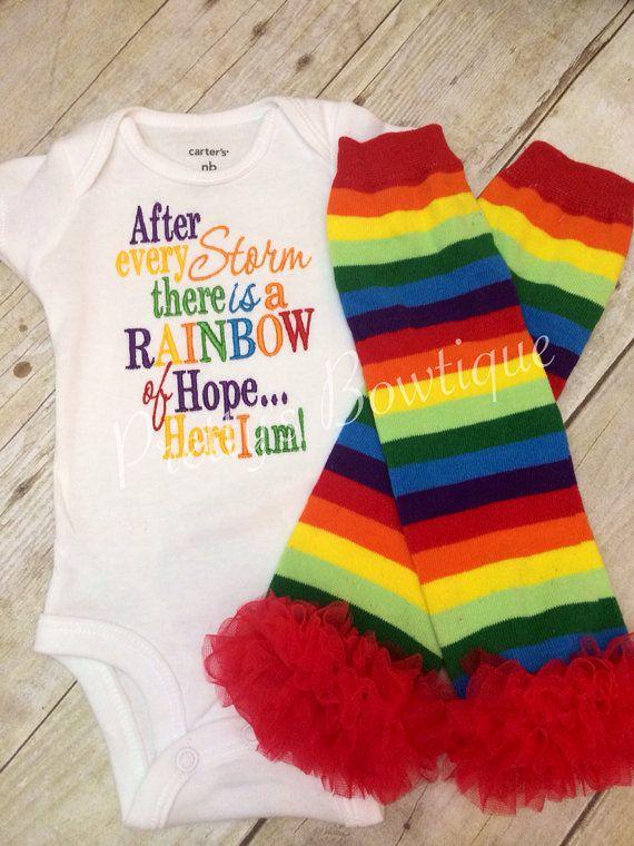 Rainbow baby IVF infertility adoption I use Carters Brand ...