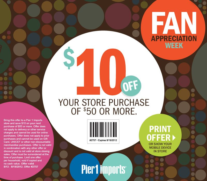 pier one 1 coupons codes printable