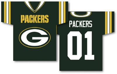 GB Packers Jersey Banner - Fly Me Flag | Sports | Green bay