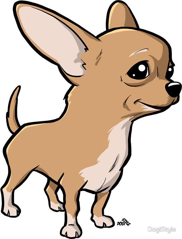 Resultado De Imagen Para Chihuahua Cartoon Cartoon Dog Chihuahua Drawing Dog Illustration