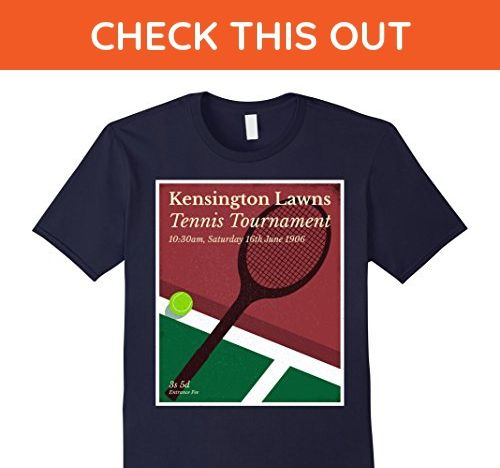 Mens Vintage English Tennis Tournament T Shirt 2xl Navy Sports Shirts Amazon Partner Link Tennis Tournaments Vintage Men Sports Shirts