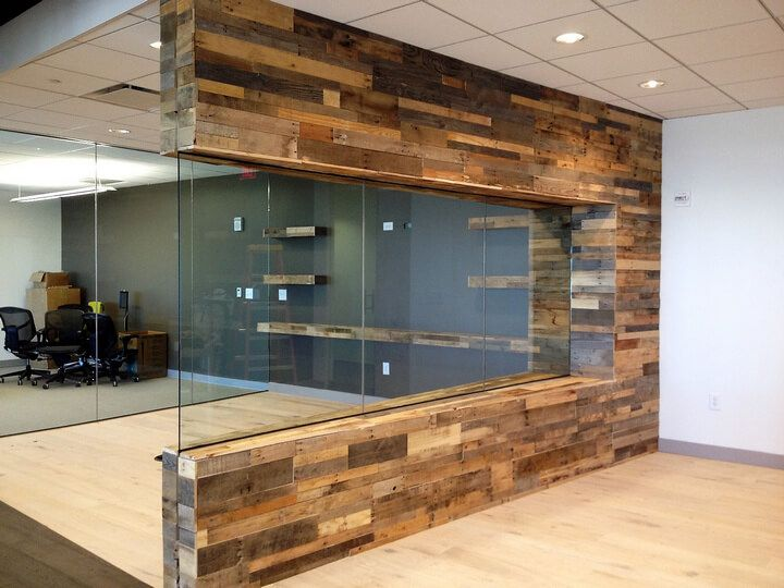 Decorate House Walls with Pallet Wall Cladding Pallet wood walls