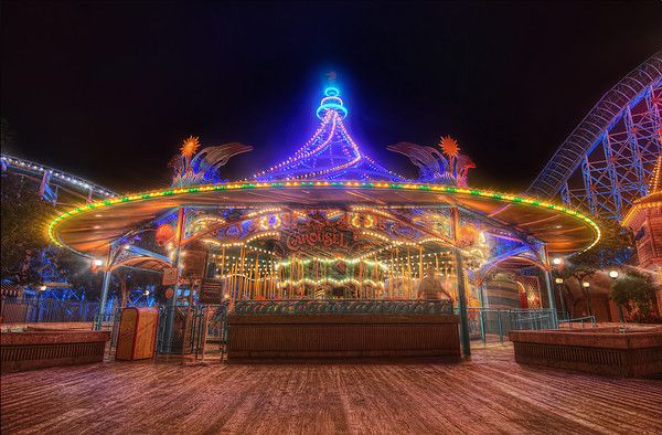 King Triton's Carousel, California Adventure, Disneyland Resort