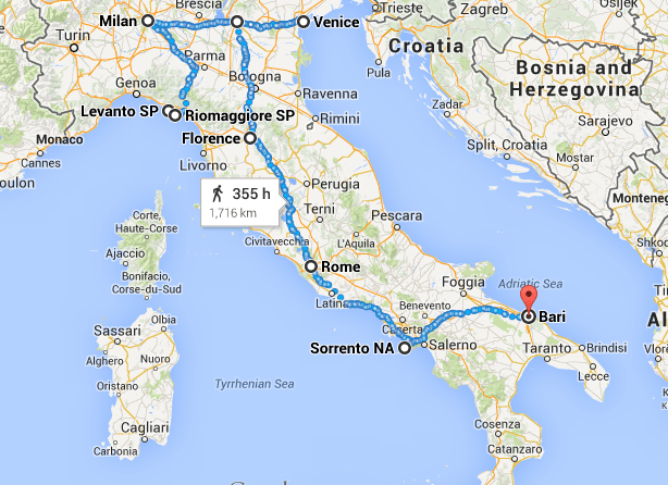 Itinerary 2 Weeks In Italy The Wanderbug 2 Weeks In Italy Italy Itinerary Italy Travel