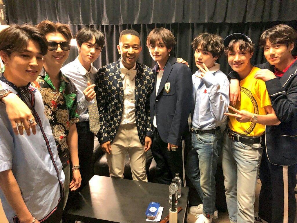 Bts And John Legend Mtv Miaw John Legend Celebridades