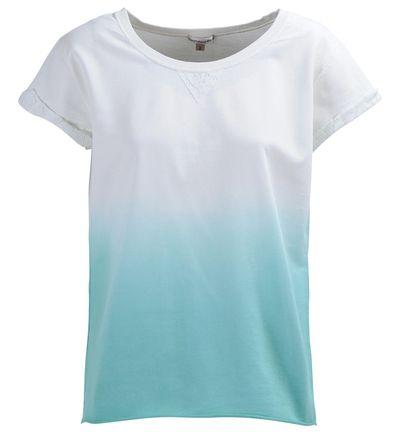 Tee-shirt dégradé manches courtes