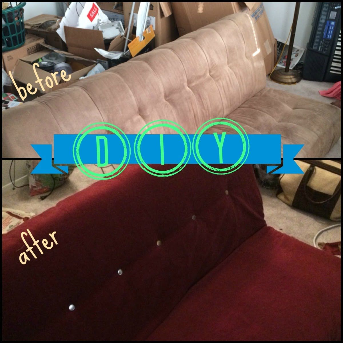 How To Reupholster A Futon Part 1