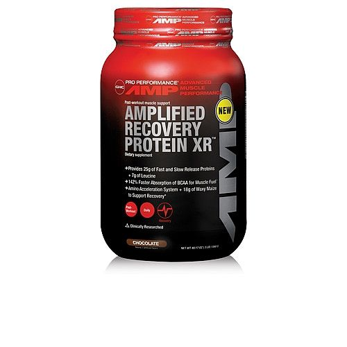 Gnc Pro Performance Amp Amplified Recovery Protein Xr Chocolate Post Workout Supplement 54 99
