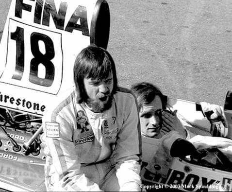 Mike Wilds & Helmut Konigg Glen '74