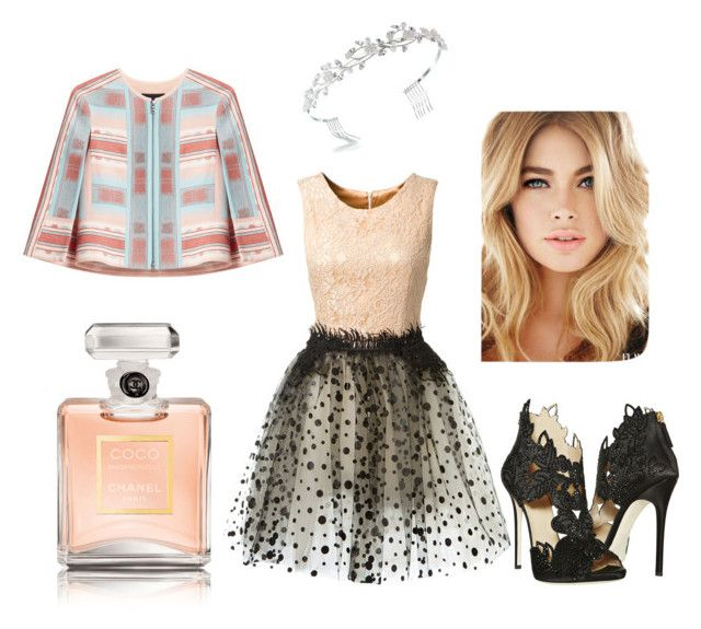 """Mademoiselle"" by collane-di-moda on Polyvore featuring Loyd/Ford, La Perla, BCBGMAXAZRIA, Chanel and Bling Jewelry"