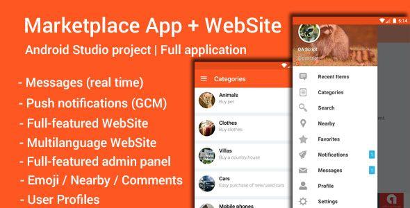 My Marketplace - Marketplace App Website Download