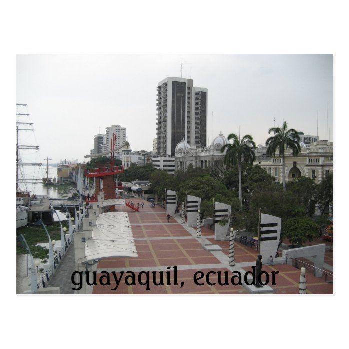 Guayaquil Ecuador Riverwalk