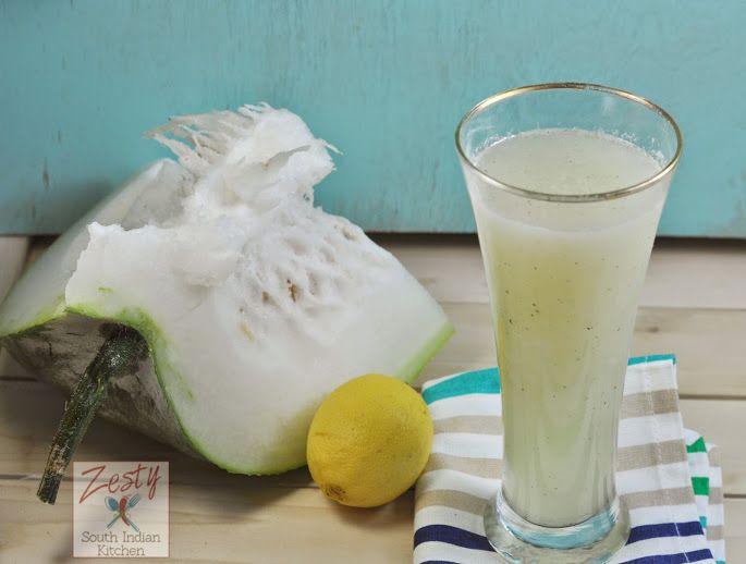 Winter Melon/Ash Gourd Juice - Zesty South Indian Kitchen #wintermelon
