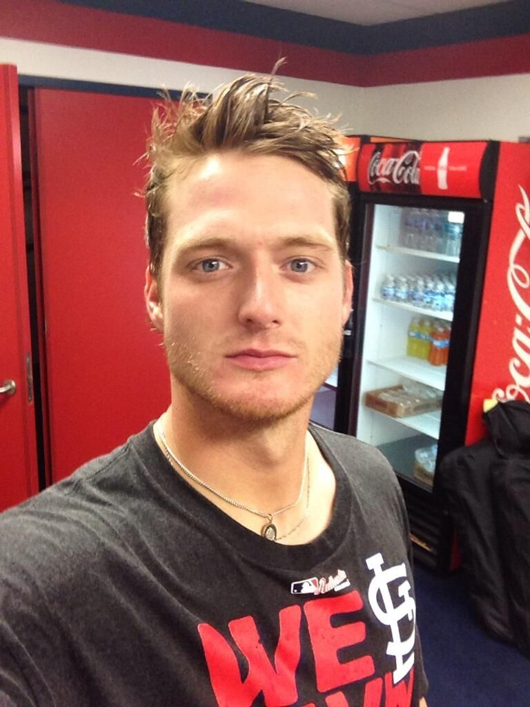 Shelby Miller soaked from the NL Central Championship