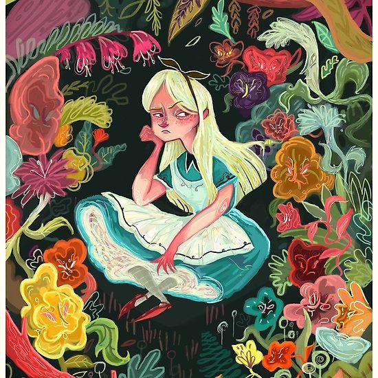 Alice in Wonderland @Linaalovegood  #IHEARTRB