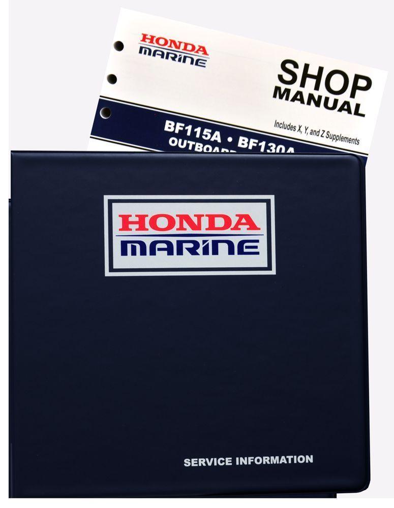 Honda Bf115 Bf130 A Model Marine Outboard Service Repair Manual