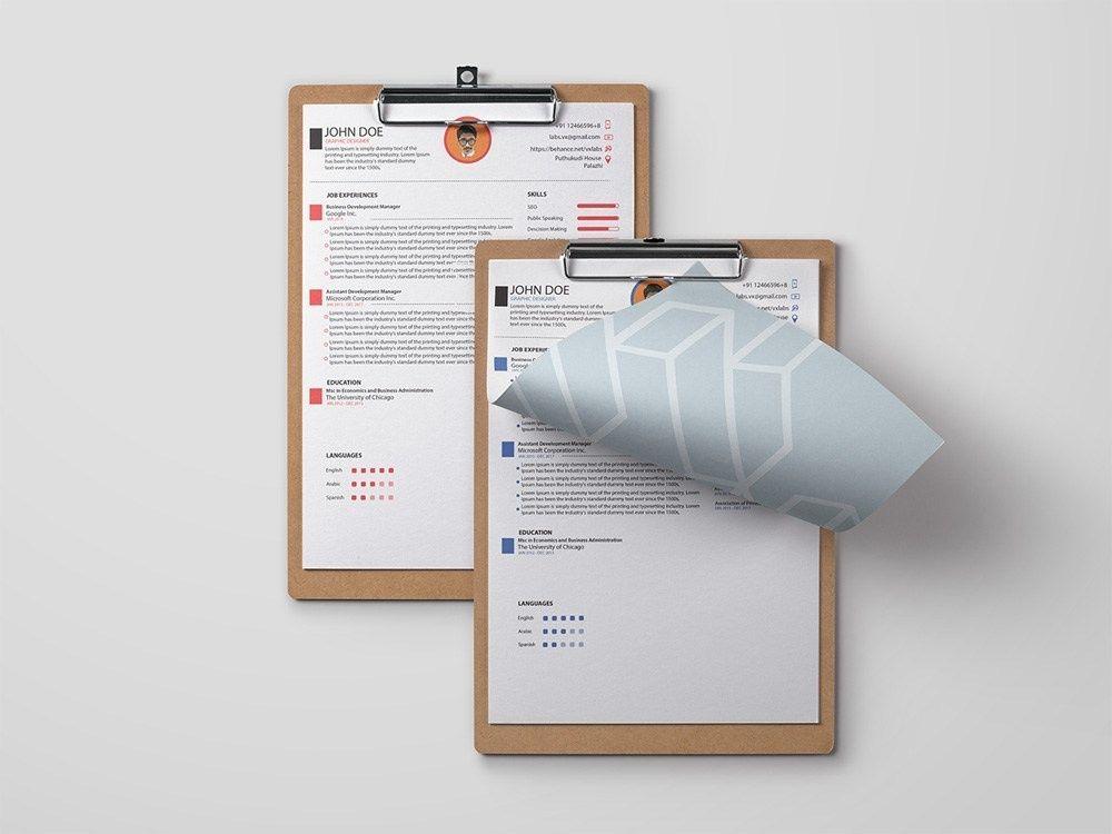 Free engineer resume template resume template free