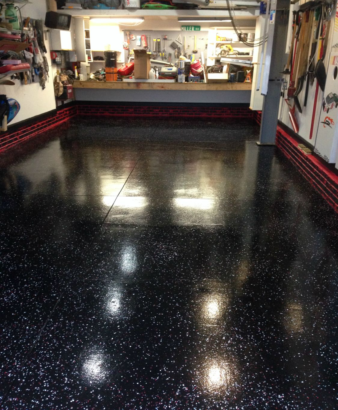 Best Garage Flooring Options From paint and tile to