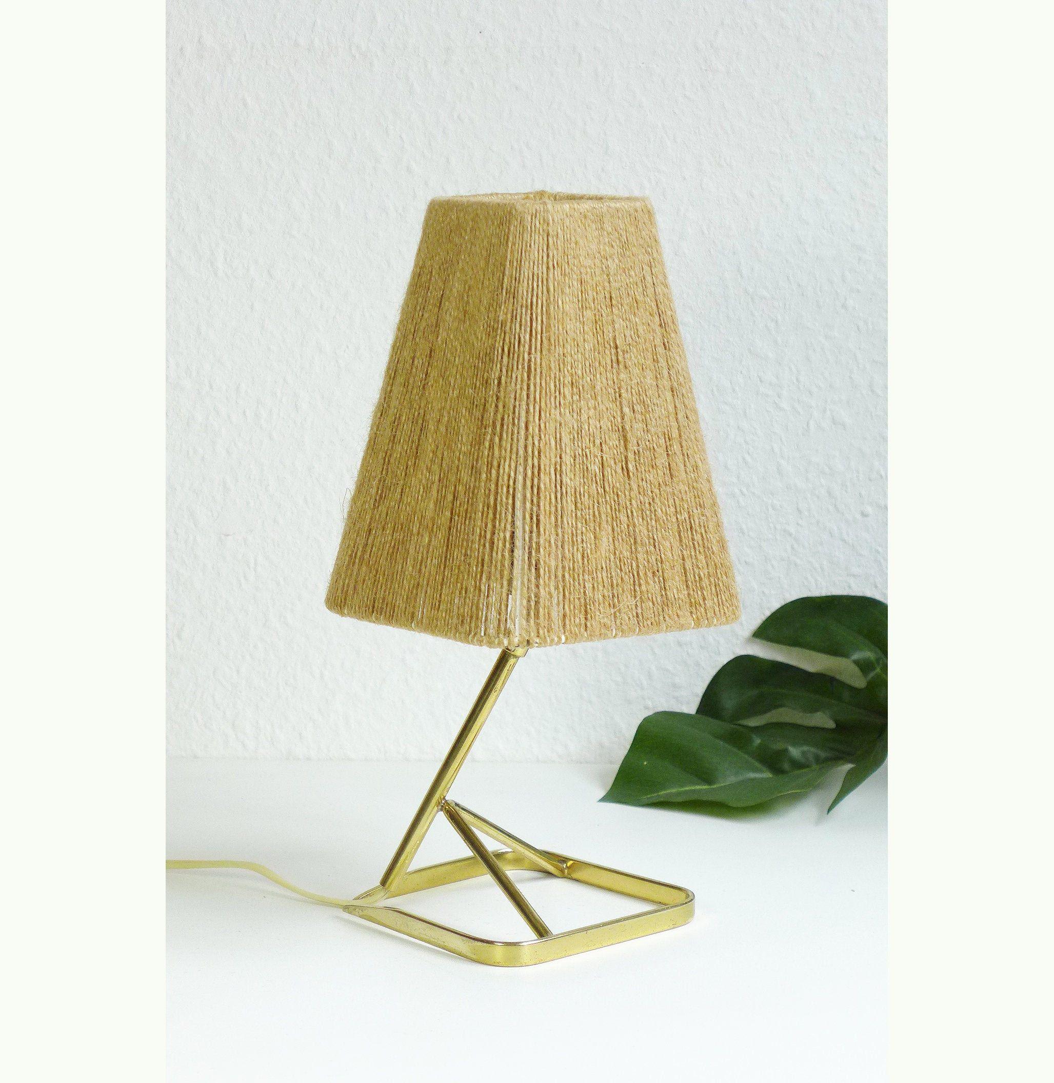 Rare Vintage Bedside Lamp Danish Design Table Light Sisal Night Light Mid Century Modern 1970s 1950s 1960s Scandinavian Table Lamp In 2020 Vintage Bedside Bedside Lamp Scandinavian Table Lamps
