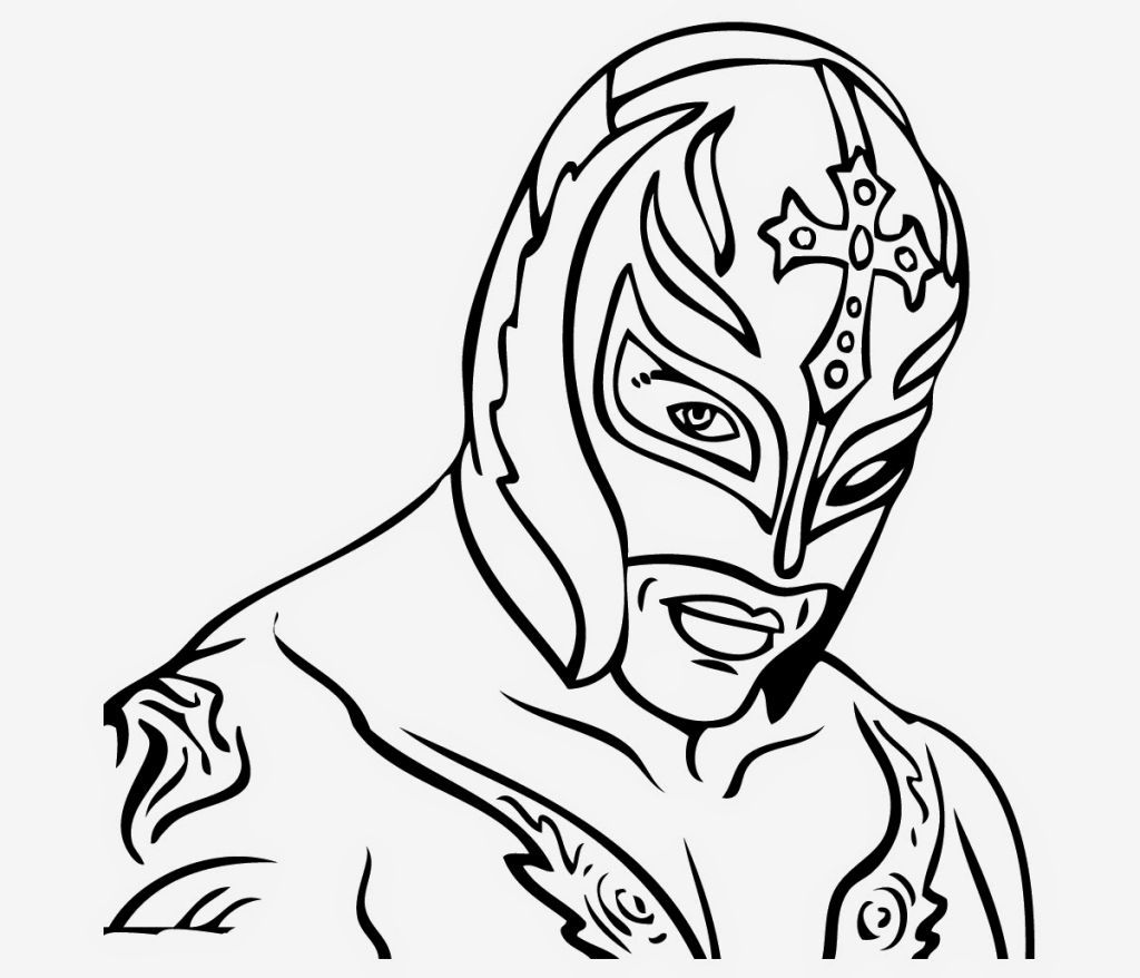 Rey Mysterio Coloring Pages Wwe Coloring Pages Animal Coloring Pages Coloring Pages For Teenagers