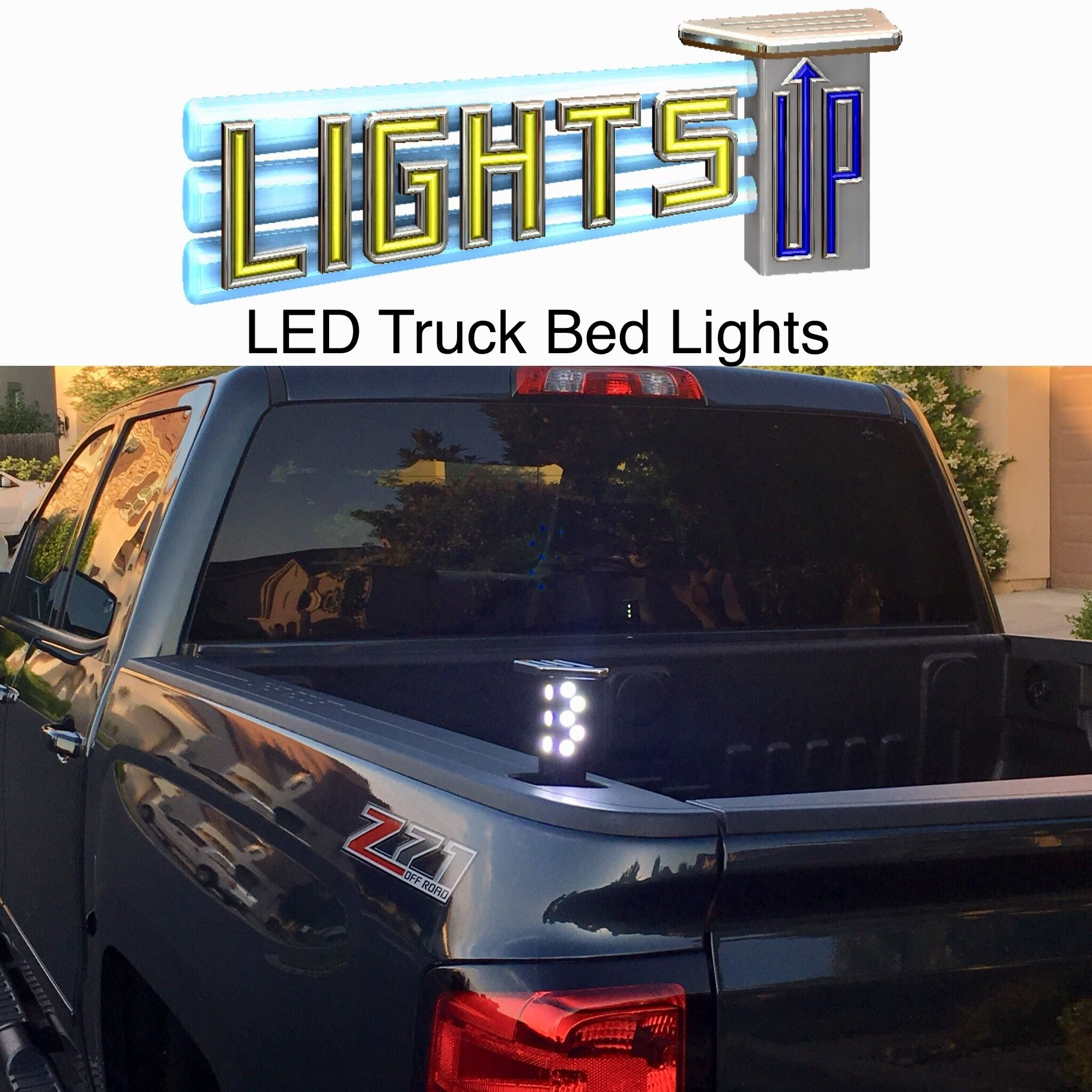 Automatic Keyless Led Truck Bed Lights Kit Available For Chevy
