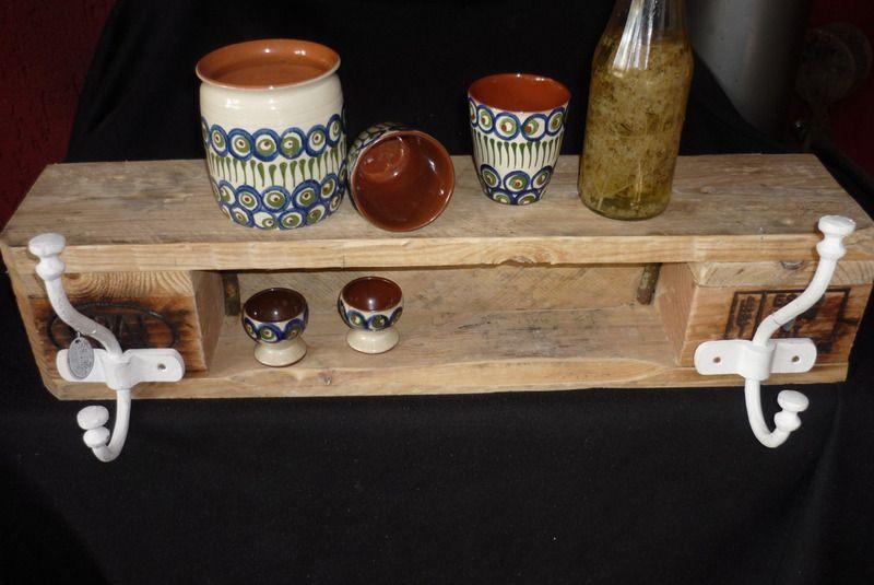 Küchenregale Ideen ~ Palettenmöbel küchenregal garderobe badmöbel von holz kreativ