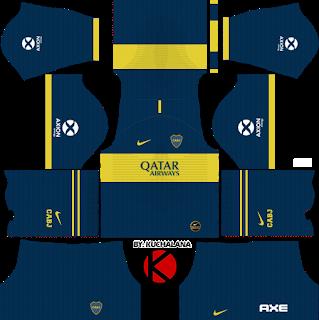 Boca Juniors 2019 2020 Kit Dream League Soccer Kits Uniformes