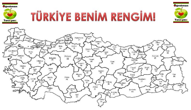 Turkiye Haritasi Oyunu Oyun Etkilesimli Defterler Harita