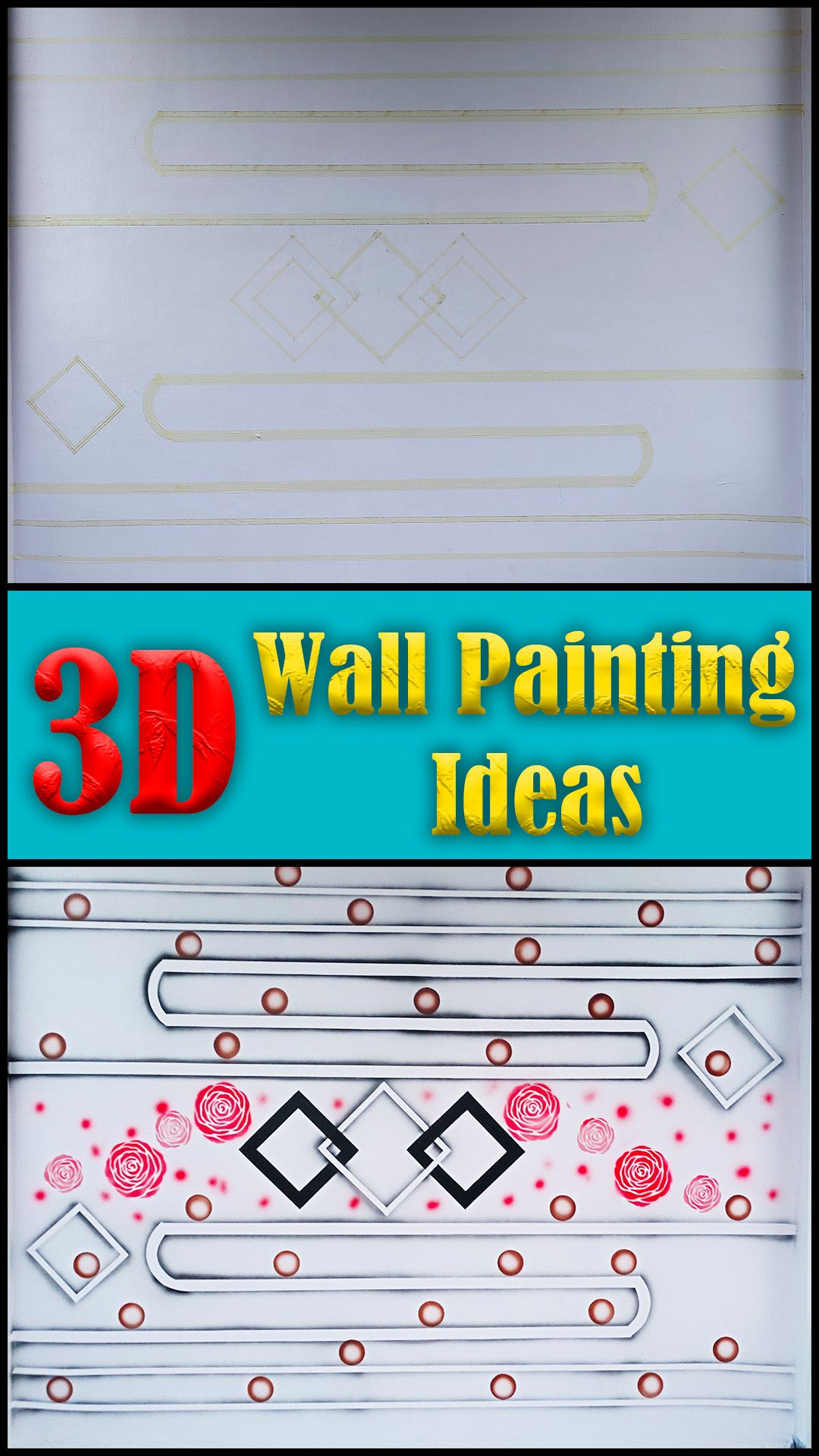 3d Wall Painting Ideas For Interior Design 3d Wall Painting Wall Paint Designs Wall Painting