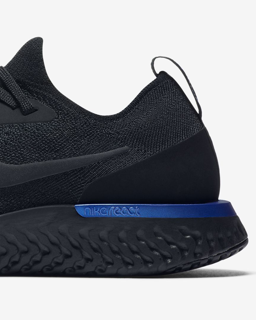 fe9c7ef99ce6 The Nike Epic React Flyknit Women s Running Shoe delivers premium comfort  enabling you to run to